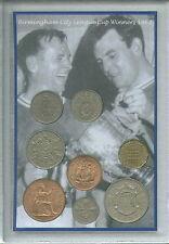 Birmingham city vintage ligue finale de la coupe gagnants rétro pièce cadeau fan set 1963