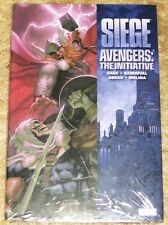 Marvel Seige; Avengers Initiative Hb Tpb Graphic Novel Still Shrink Wrapped