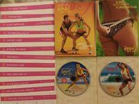 Leandro Carvalho Brazil Butt Lift the Workouts DVD 2-Disc LOT +Inserts fr/sh