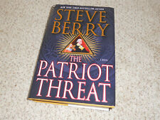 Patriot Threat Paperback by Steve Berry  Hardcover