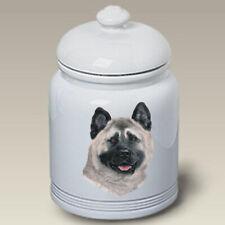 Akita Ceramic Treat Jar Lp 45098