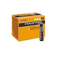 Lote de 20 Baterías Duracell industrial Lr03 AAA Mn2400 alcalina