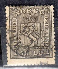 Norway - 1867 Definitive lion - Mi. 11 VFU