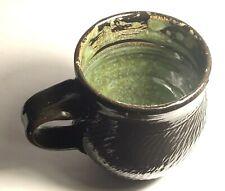 Orkney Studio Pottery Espresso Cup  -Roman Black-Orkney, Scotland (III)