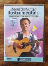 Acoustic Guitar Instrumentals Martin Simpson Lesson 3 Developing Style DVD