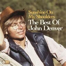 JOHN DENVER Sunshine On My Shoulders The Best Of 2CD BRAND NEW Greatest Hits