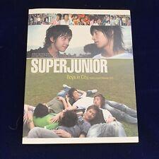 Super Junior Boys In City Photobook Kpop Rare Smtown Exo Snsd Bts Yg Twice Tvxq