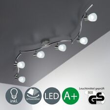 LED Spotleuchte Deckenlampe Leuchte Wohnzimmer Strahler schwenkbar E14 6-flammig