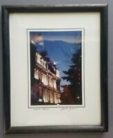 Mike Biggs Wilmington Delaware Framed Signed Photo Grand Opera House Christmas