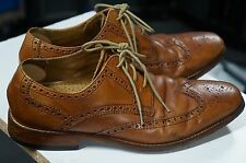 VG Cole Haan Mens NikeAir Giraldo Wing Tip Derby C09303  Leather Size 8 M