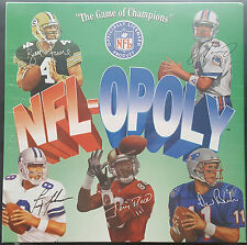 NFL-OPOLY Vintage Footbal Board Game By TDC Games Fom 1994 New/Sealed