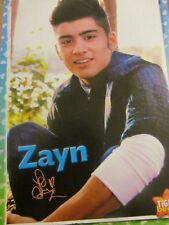 Zayn Malik, One Direction, Kendall Schmidt, Big Time Rush Double Full Page Pinup