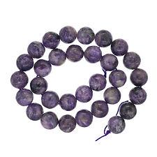 """15.5"""" Russian Charoite Round Beads ap. 13mm #86217"""