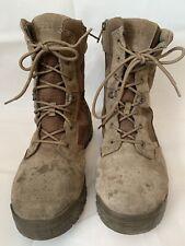 "5.11 Atac 2.0 8"" Desert Coyote-W Zip Boots Mens 10.5 Pre-Owned"