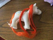 My Little Pony Knock Off white with rainbow
