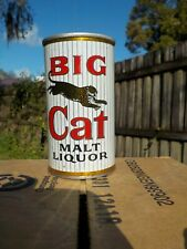 BIG CAT BY PABST STRAIGHT STEEL OLD BEER CAN