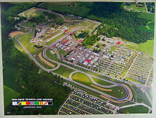 """2010 Arial Photograph of Mid-Ohio Sports Car Course, 18"""" x 24"""" Poster"""