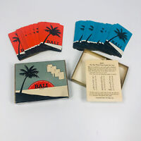 Vintage Bali Word Card Game 1954 Complete w/ Instructions (BG)