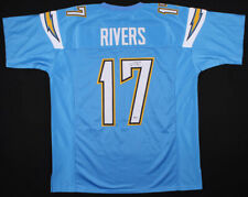 PHILIP RIVERS AUTOGRAPHED SIGNED PRO STYLE JERSEY with BECKETT COA #M93362