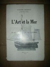 l'art et la mer André Berqueman modèles anciens de bateaux Musée Marine  RARE