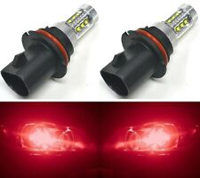 LED 80W 9004 HB1 Red Two Bulbs Head Light Plug Play Show Use Lamp Replace