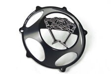"Ducati KBIKE clutch cover ""Desmo"" open black NEW"