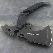 """New listing 13"""" Tactical Survival Camping Tomahawk Axe Knife Hawk Hatchet Throwing Hunting"""
