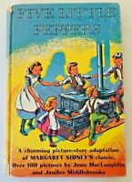 Five Little Peppers Book by Margaret Sidney 1953 First Edition Hardcover