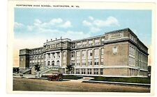 Huntington WV - HUNTINGTON HIGH SCHOOL BUILDING - Postcard
