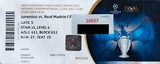 Biglietto | Finale UEFA Champions League 2016/2017 | Juventus - Real Madrid
