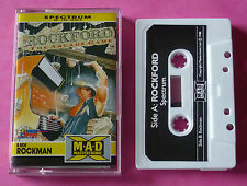 Sinclair ZX Spectrum - Mastertronic ROCKFORD Boulder Dash 1988 *NEW!