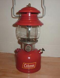 Vintage Coleman 200A Red Lantern Oct. 1955
