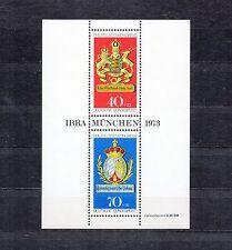 ALLEMAGNE Germany Bloc Feuillet Yvert N°  8 Neuf luxe XX Congrés Munich IBRA