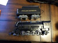 Lionel Polar Express Ready to Play gauge 1225 Steam Engine Locomotive and Tender
