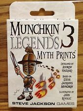 Munchkin Legends 3: Myth Prints Expansion