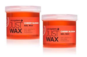 2 x Salon Systems Just Wax  CHERRY Gel Wax Strip wax