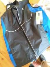 New Gold's Gym Reflective Full-Zip Windbreaker Jacket Vest Mens SM