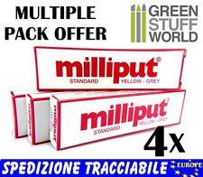 Stucco Milliput COMBOx4= 4xStandard - Colla Epossidica