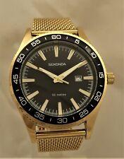 Sekonda  Gents Gold Plated Watch   1599-SNP