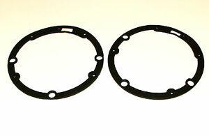 TRIUMPH TR2, TR3, TR3A, TR4 & TR4A PAIR OF HEADLAMP TO BODY RUBBERS