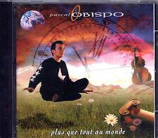 CD 12T PASCAL OBISPO PLUS QUE TOUT AU MONDE DE 1992 ETAT NEUF