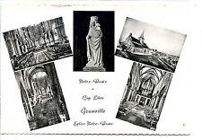 CP 50 MANCHE - Granville - Notre-Dame du Cap Lihou - Multivues n&b