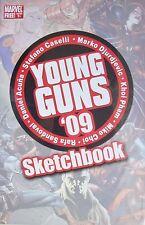 YOUNG GUNS 09 SKETCHBOOK PROMO GIVEAWAY NM MARVEL RARE