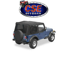 51123-15 Bestop Black Denim Replace-A-Top With Tint Jeep Wrangler YJ 1988-1995