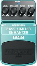 Behringer BASS LIMITER ENHANCER BLE400 PEDALE/Stomp Box