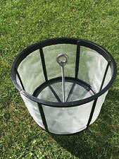 Filterkorb Regenwasserfilter, Kunststoffkorb aus PE, Gartenfilter