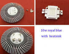 10w Royal Blue 445-450nm led chip emitter diodes with 10w led heatsink for Diy