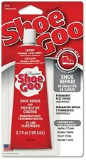 NEW 3.7 OZ SHOE GOO ADHESIVE GLUE VINYL RUBBER LEATHER REPAIR CLEAR