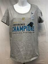 Neuf North Carolina Panthers Femme TAILLE L Gris Nike Chemise