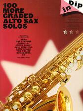 Dip In 100 More Graded Alto Saxophone Solos Pop Popsongs Noten für Alt-Saxofon